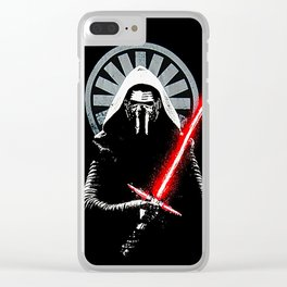 Dark side Clear iPhone Case
