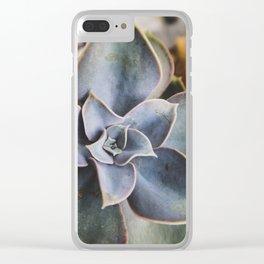 beautiful succulent Clear iPhone Case
