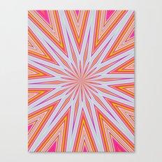 orange splat Canvas Print