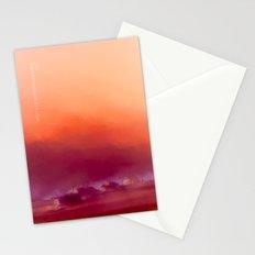 Winter-sun, in Iceland, Seltjarnarnes. Stationery Cards
