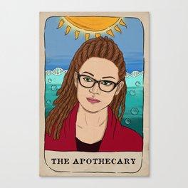 Cosima Niehaus Tarot Card Canvas Print