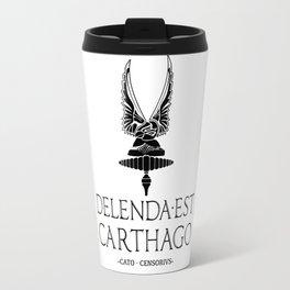 Delenda est Carthago Travel Mug