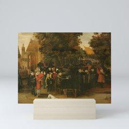 Satirical Show on Dutch Politics around 1619, Adriaen Pietersz. van de Venne (follower of), c. 1619 Mini Art Print