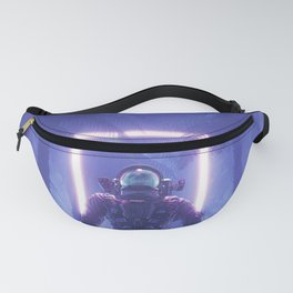 Lost In The Neon Jungle Fanny Pack