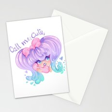 Call Me, Cutie Stationery Cards