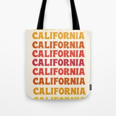 Stylin' - 70's retro throwback cali socal 1970s style art decor minimalist Tote Bag