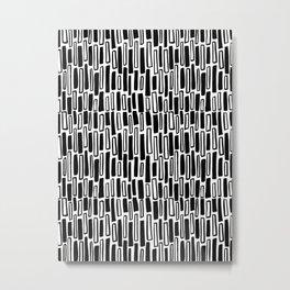 Raintangle Metal Print