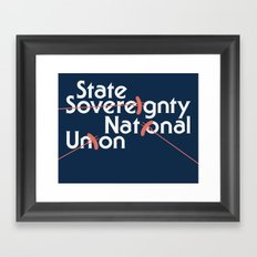 Illinois Framed Art Print
