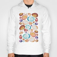 eggs Hoodies featuring Eggs by Sushibird