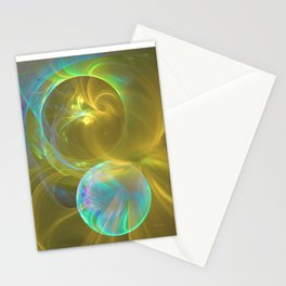 Eclipsing Spheres Stationery Cards