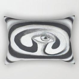 Eye Spiral Out Rectangular Pillow