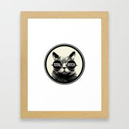 Total Bitch Framed Art Print