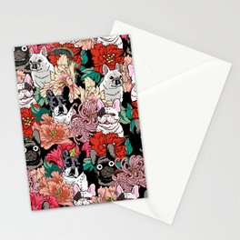 Because French Bulldogs Stationery Cards