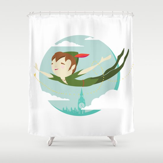 Storybook Pan Shower Curtain