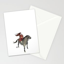 Numero 2 -Cosi che cavalcano Cose - Things that ride Things- Stationery Cards