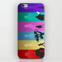 big hero 6 iPhone & iPod Skins featuring The Big Hero 6 by Travis Love