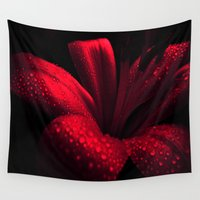 ruby Wall Tapestries featuring Ruby by Vitta