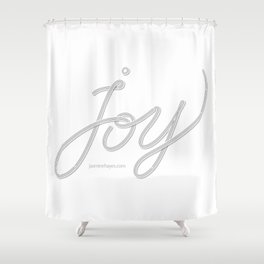 Joy – Ghost Shower Curtain