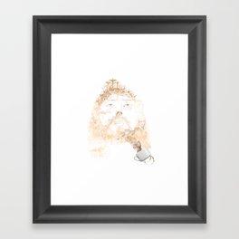 A CUP OF FAITH Framed Art Print