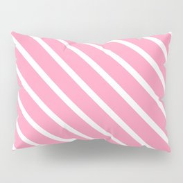 Musk Stick Diagonal Stripes Pillow Sham