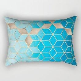 Sea And Sky Cubes (Custom Request) Rectangular Pillow