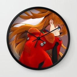 Asuka Langley Sohryu Wall Clock