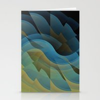 wings Stationery Cards featuring Wings by Fringeman