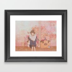 Moonstruck Framed Art Print