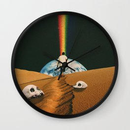 'Psycho Machine' Wall Clock