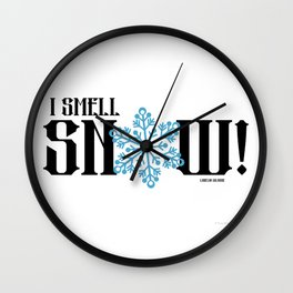 Gilmore Girls Quote Snow Wall Clock
