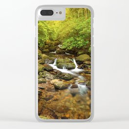 Stream under Torc Waterfall Clear iPhone Case