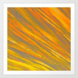 Canary Yellow Art Print