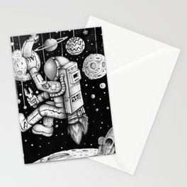 Galaxy Repairman Stationery Cards