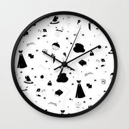 Witchie stuff Wall Clock