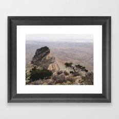 Guadalupe Mountains National Park Framed Art Print
