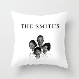 The Smiths Throw Pillow