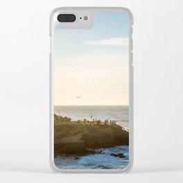 San Diego Beach Sunset Landscape in La Jolla Clear iPhone Case