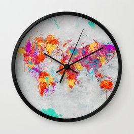 Mother Earth Crying Wall Clock
