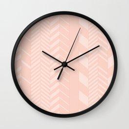 Arrow Lines Wall Clock