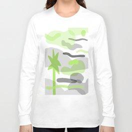 Palm Fade Long Sleeve T-shirt