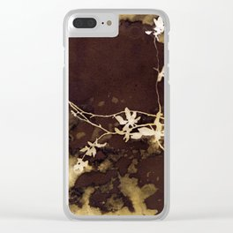 Autumn Vines Clear iPhone Case