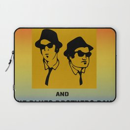 Mission From God Blues Brothers Laptop Sleeve