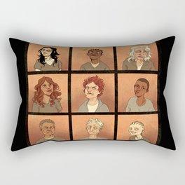 Inmates Rectangular Pillow