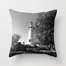 Lighthouse... Throw Pillow