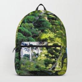 Japanese Tea Garden Lake Backpack