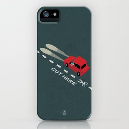 Livin' on the edge iPhone Case