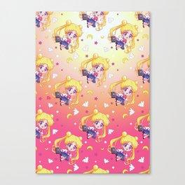 Sailor Moon Crystal Texture Canvas Print