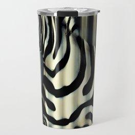 Street Zebra Travel Mug