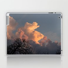 the clouds seem to mimic the treeline. Laptop & iPad Skin