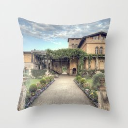Roman Baths Throw Pillow